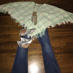 Sweaters - Boyne valley weavers poncho